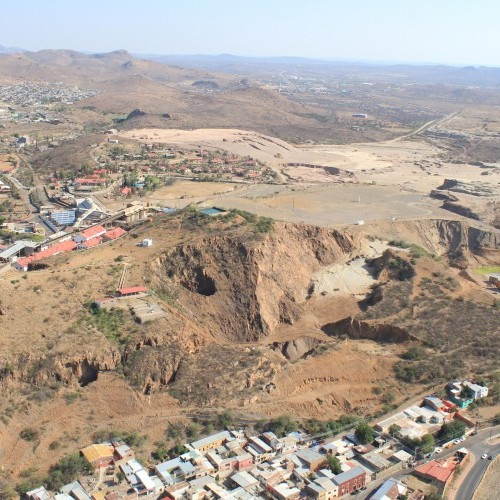 Tailings in City of Parral (2015)